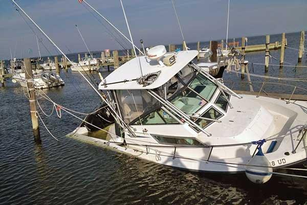 prevent boat sinking